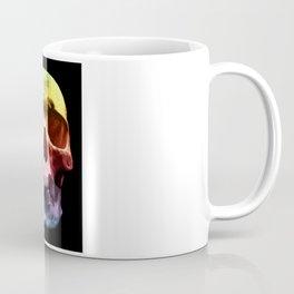 Pop Art Skull Face Coffee Mug