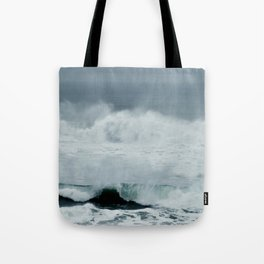 POWERFUL PACIFIC OCEAN Tote Bag