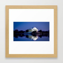 Jefferson Memorial (Washington, D.C.) Framed Art Print