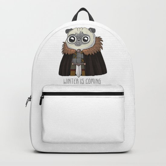 winter Is puging Backpack