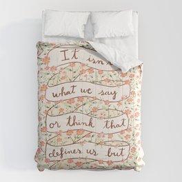 Sense and Sensibility quote Comforters