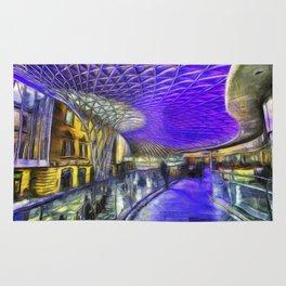 Kings Cross Station London Art Rug