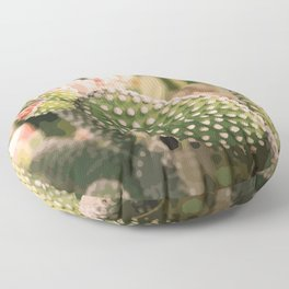 Vintage Prickly Pear Floor Pillow