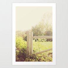 Home, At Sunset Art Print