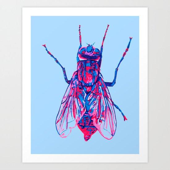 House Fly Art Print