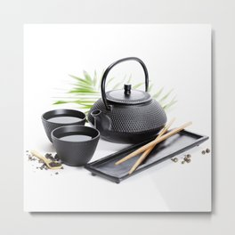 Asian food concept Metal Print