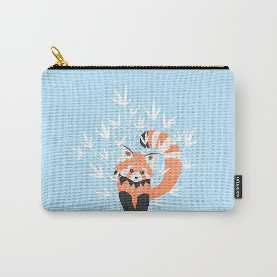 Baby Red Panda / Sky Carry-All Pouch