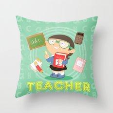 teacher Throw Pillow