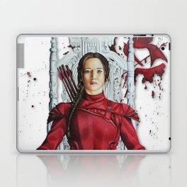 "Katniss Everdeen Mockingjay Part 2 ""I Kill Snow"" | Drawing Laptop & iPad Skin"