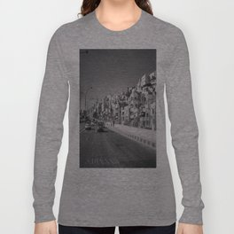 جبل القصور (Hill of Castles)  Long Sleeve T-shirt