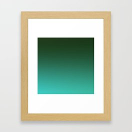 SHADOWS AND COUNTERPARTS - Minimal Plain Soft Mood Color Blend Prints Framed Art Print