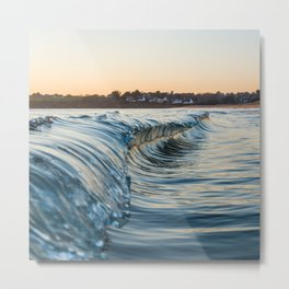 Sunset reflexion Metal Print