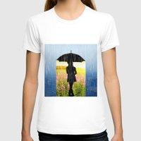umbrella T-shirts featuring Umbrella by Cs025
