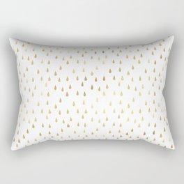 Beautiful Gold Pattern Rectangular Pillow