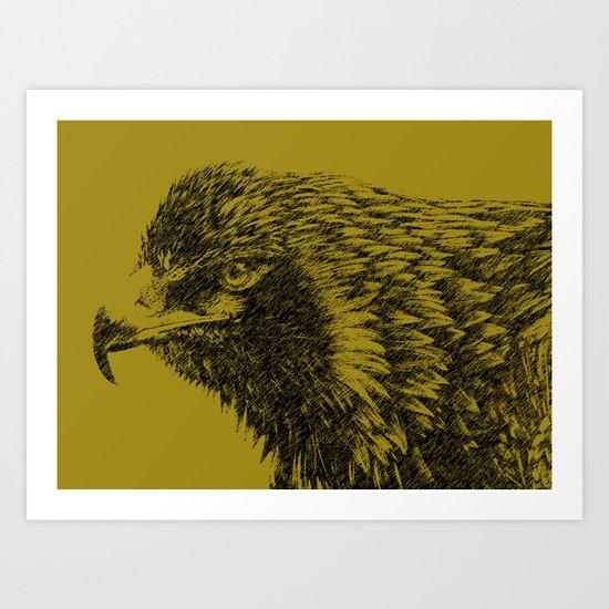 eagle eagle Art Print