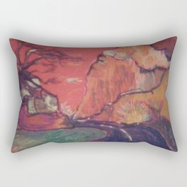 Topanga blvd Rectangular Pillow