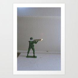 the war on drugs Art Print