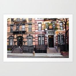 East Village. New York. USA Art Print
