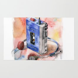 Vintage gadget series: Sony Walkman TPS-L2 Rug