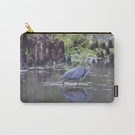 Great Blue Heron Painting Carry-All Pouch
