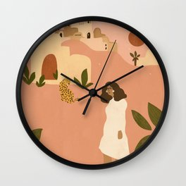I want to go to Marrakech Wall Clock