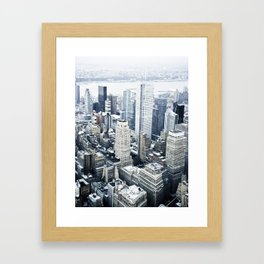 NEW YORK//COLOUR Framed Art Print