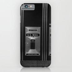 Mailboxes Black and White Original Photo Slim Case iPhone 6s