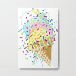 Ice_Cream Metal Print