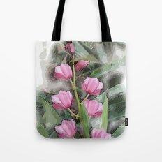 Cymbidium Chili Pepper Orchids Tote Bag