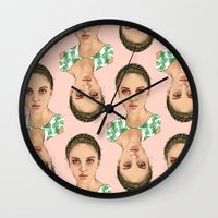 venus Wall Clocks featuring VENUS by Laura O'Connor