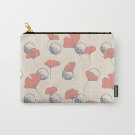 Delicate Ginkgo&Dots #society6 #decor #buyart Carry-All Pouch