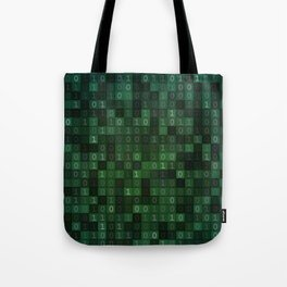 Tell Me In Binary Tote Bag