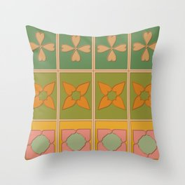 Doors of Oman #8 - Jebel Akhdar Throw Pillow