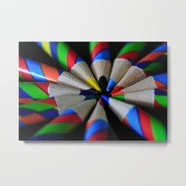 Twisters Metal Print