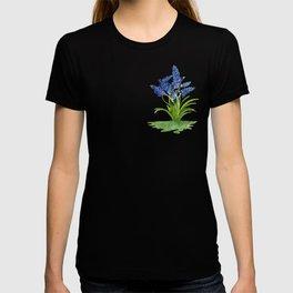 Watercolour Grape Hyacinth T-shirt