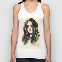 west coast Tank Tops featuring   West Coast  by vooce & kat