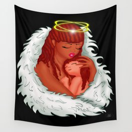 Angel's Love Wall Tapestry