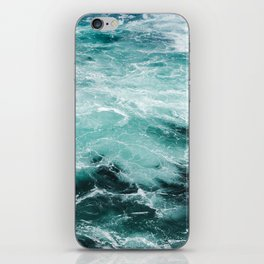 Water Photography | Sea | Ocean | Pattern | Abstract | Digital | Turquoise iPhone Skin