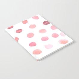 Pink Polka Dots Notebook
