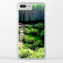 Umpherston Sinkhole Clear iPhone Case