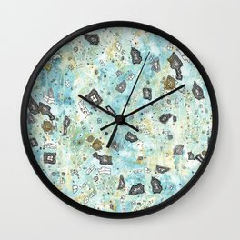 Surreal Sky Wall Clock
