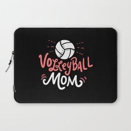 Volleyball Mom. - Gift Laptop Sleeve