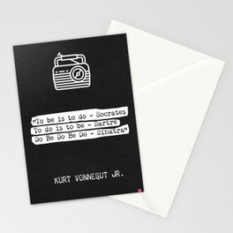 Kurt Vonnegut Jr. quote Stationery Cards