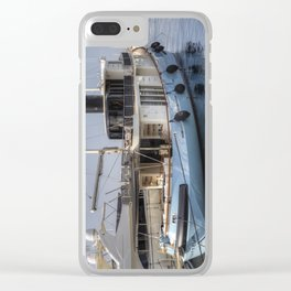 Lutteur Motor Yacht Clear iPhone Case