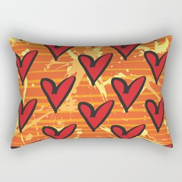 Joy 5 by Kathy Morton Stanion Rectangular Pillow