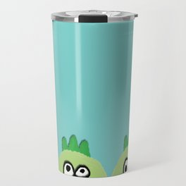 three little dinoes Travel Mug