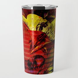 Flor kitsch I love Travel Mug