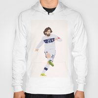 pirlo Hoodies featuring  Andrea Pirlo by Tornado