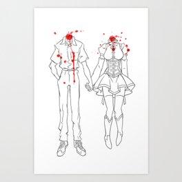 Headcanon Art Print