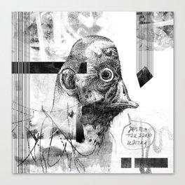 Kaczoludź - ZONA Canvas Print
